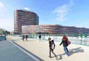 Bunte neue Arbeitswelt in Hamburg-Wilhelmsburg