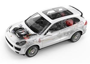 Ganz schön viel Technik: Porsche Cayenne mit Plug-in-Hybridantrieb