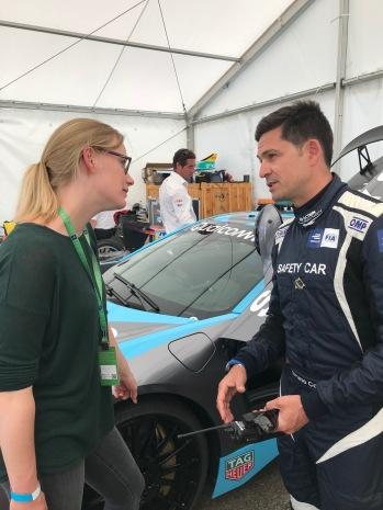 Formel E Safety Car Driver